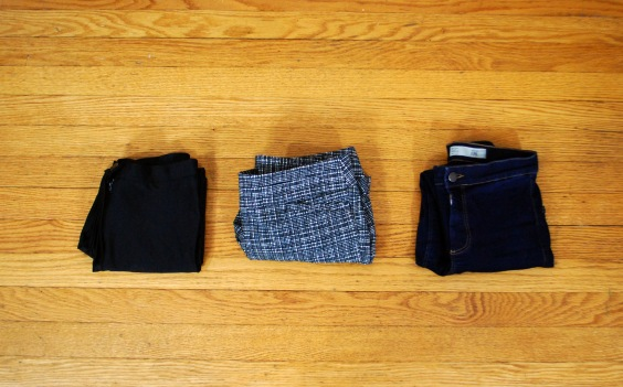 winter wardrobe bottoms