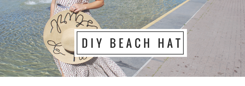 DIY Beach Hat